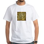 Celtic Letter F White T-Shirt
