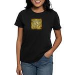 Celtic Letter F Women's Dark T-Shirt