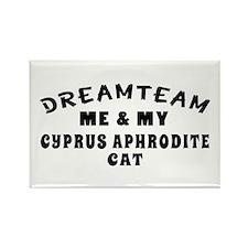 Cyprus Aphrodite Cat Designs Rectangle Magnet