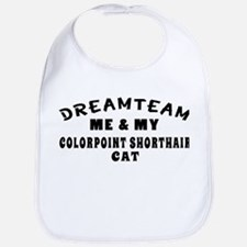 Colorpoint Shorthair Cat Designs Bib