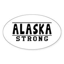 Alaska Strong Designs Decal