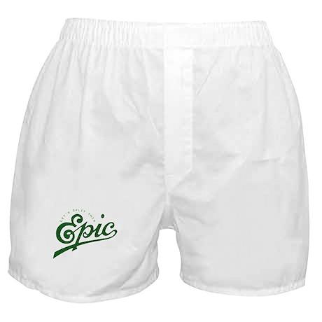 Story Split Boxer Shorts