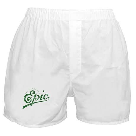 Faded Story Split Boxer Shorts
