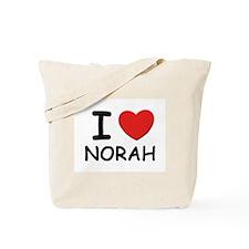 I love Norah Tote Bag