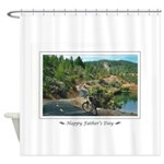 Bike Ride Shower Curtain
