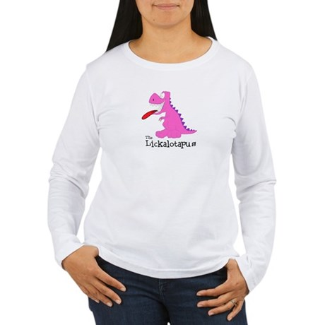 Lickalotapus Women's Long Sleeve T-Shirt