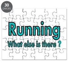 Running. What else is there? Puzzle