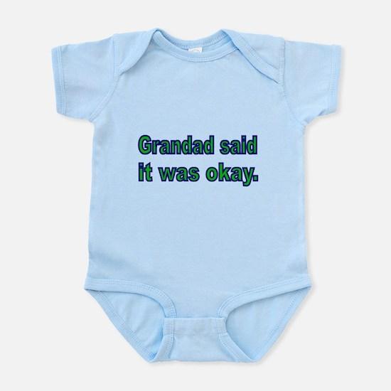 Grandad said it was okay Body Suit