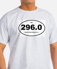 Bipolar Athlete DSM 296.0 T-Shirt