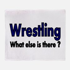 Wrestling. What esle is There? Throw Blanket