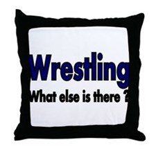 Wrestling. What esle is There? Throw Pillow
