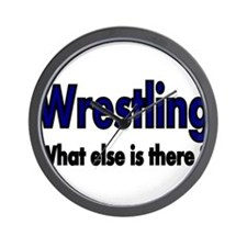 Wrestling. What esle is There? Wall Clock