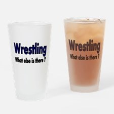 Wrestling. What esle is There? Drinking Glass