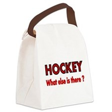 HOCKEY. What else is there? Canvas Lunch Bag