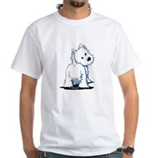 KiniArt Fluffybutt Westie Shirt