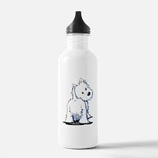 KiniArt Fluffybutt Wes Water Bottle