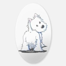 KiniArt Fluffybutt Westie Decal