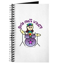 Light Girl Drummer Journal