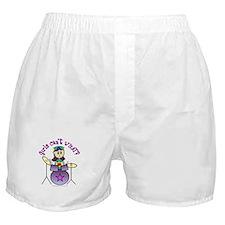 Light Girl Drummer Boxer Shorts
