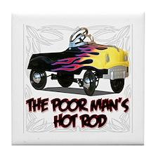 Poor mans Hot Rod Tile Coaster