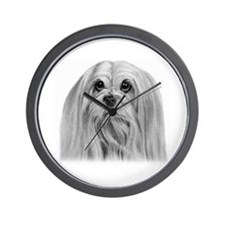 Lhassa Apso Wall Clock