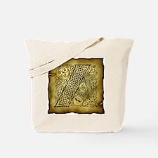 Celtic Letter A Tote Bag