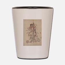 Anonymous - Samurai Drinking Sake - Circa 1880 - W