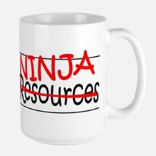 Job Ninja HR Large Mug
