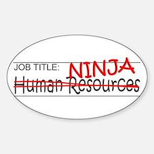 Job Ninja HR Decal