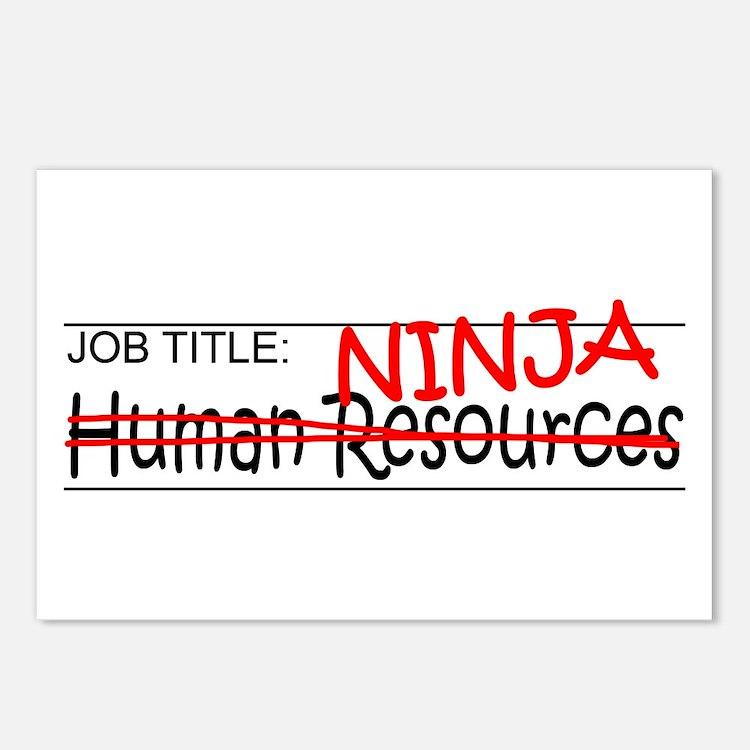 Job Ninja HR Postcards (Package of 8)