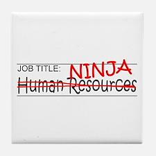 Job Ninja HR Tile Coaster