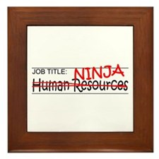 Job Ninja HR Framed Tile