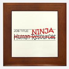 Job Ninja HR Framed Tile