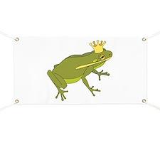 Frog Royalty Banner