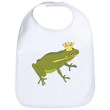 Frog Royalty Bib