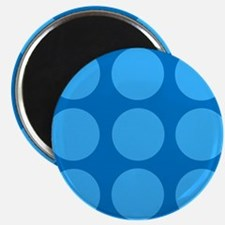 'Dotty Blue' Magnet