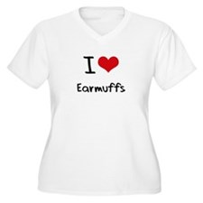 I love Earmuffs Plus Size T-Shirt