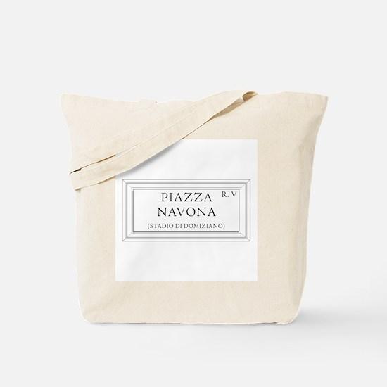 Piazza Navona, Rome - Italy Tote Bag