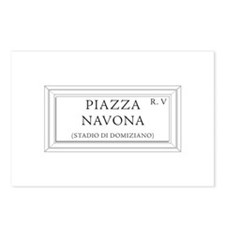 Piazza Navona, Rome - Italy Postcards (Package of