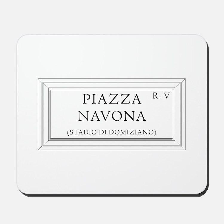 Piazza Navona, Rome - Italy Mousepad