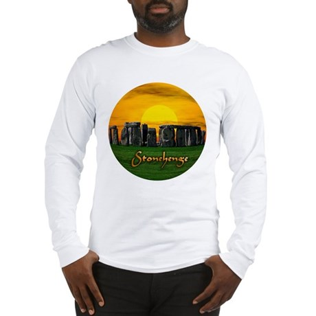 Stonehenge at Sunset - Long Sleeve T-Shirt