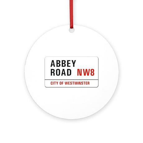 Abbey Road, London - UK Ornament (Round)