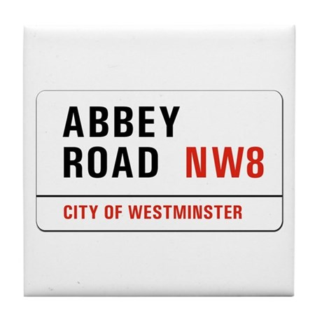 Abbey Road, London - UK Tile Coaster