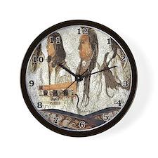 Indian Portraits Wall Clock