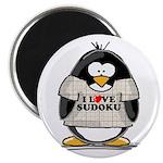 Sudoku Penguin Magnet