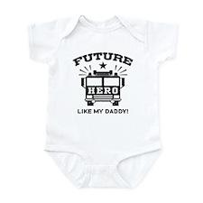 Future Hero Like My Daddy Infant Bodysuit