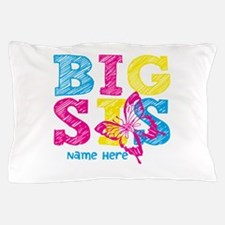 Butterfly Big Sis Pillow Case