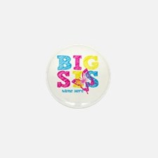 Butterfly Big Sis Mini Button (10 pack)
