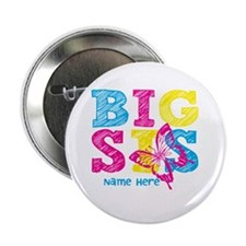 "Butterfly Big Sis 2.25"" Button"