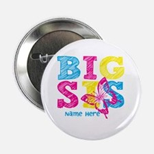 """Butterfly Big Sis 2.25"""" Button"""
